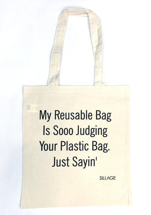 Tote Βαμβακερή Τσάντα - My Reusable Bag