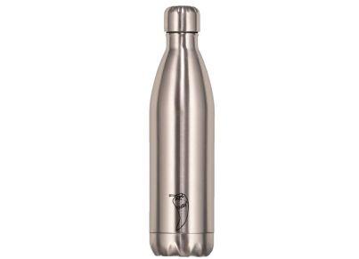 Μπουκάλι Θερμός Chilly's - Original Silver 750ml