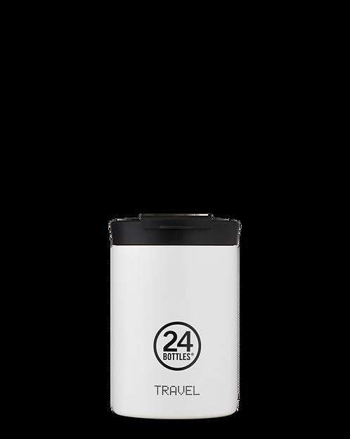 24 Bottles Travel Tumbler Ice White - Ποτήρι Θερμός 350ml