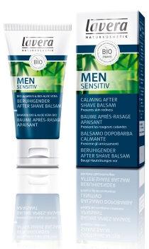 Lavera Men Sensitiv After Shave Balm - Με Βιολογικό Μπαμπού & Βιολογική Αλόη