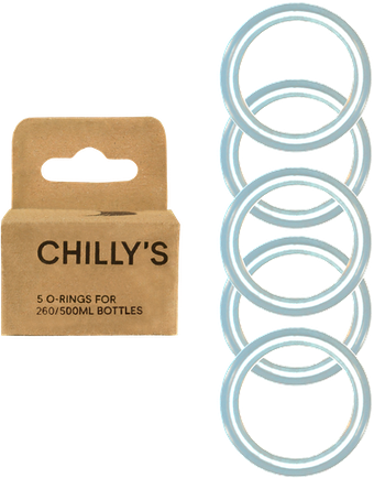 5 O-ring Pack Για Θερμός Chilly's 260/500ML
