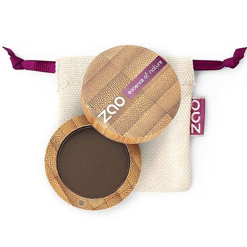 ZAO Eyeshadow Matt - Βιολογική Σκιά 203 Dark Brown