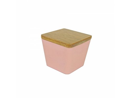 Bamboo Candle / Flower 2 In 1 - Seductive Lilac