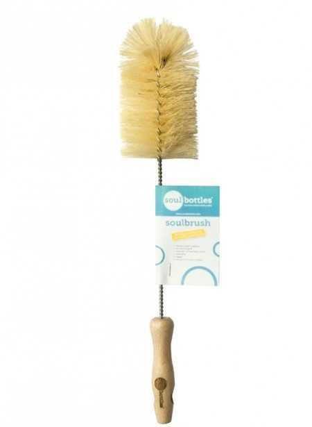 Soulbrush Βούρτσα Για Καθαρισμό Μπουκαλιών Με Ίνες Από Αγαύη