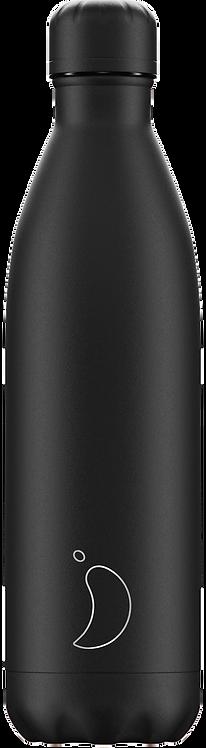 Μπουκάλι Θερμός Chilly's - All Black 750ml