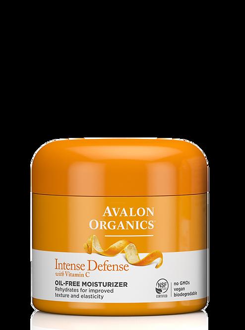 Avalon Organics Intense Defense Vitamin C - Ενυδατική Κρέμα Προσώπου Oil-Free