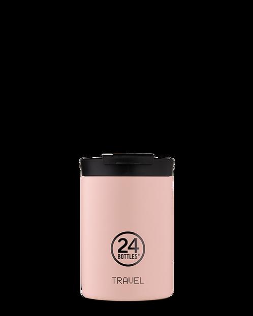 24 Bottles Travel Tumbler Dusty Pink - Ποτήρι Θερμός 350ml