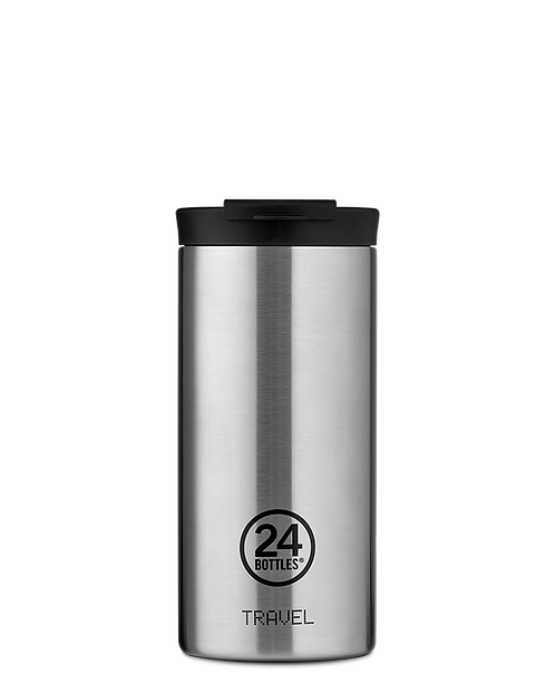 24 Bottles Travel Tumbler Steel - Ποτήρι Θερμός 600ml