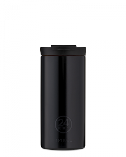 24 Bottles Travel Tumbler Tuxedo Black - Ποτήρι Θερμός 600ml