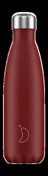 Μπουκάλι Θερμός Chilly's - Red Matte 500ml