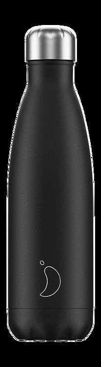 Μπουκάλι Θερμός Chilly's - Black Matte 500ml