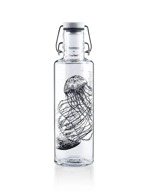 Soulbottle Γυάλινο Μπουκάλι 0.6L - Jellyfish In The Bottle