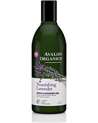 Avalon Organics Shower Gel Lavender - Αφρόλουτρο Με Λεβάντα