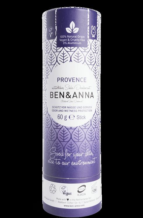 Ben & Anna Deo Stick / Στερεό Αποσμητικό Σε Χάρτινη Συσκευασία - Provence