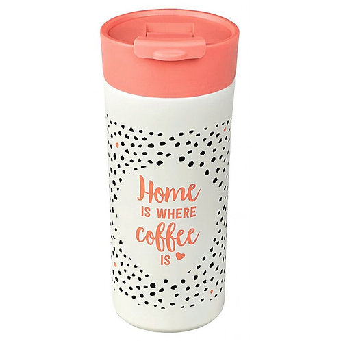 Home Is Where Coffee Is Thermobecher To Go - Ποτήρι Θερμός 450ml