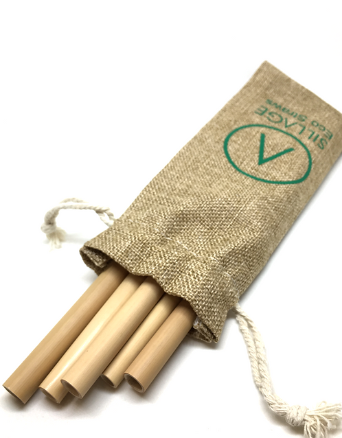 Bamboo Straws SILLΛGE - Set 5