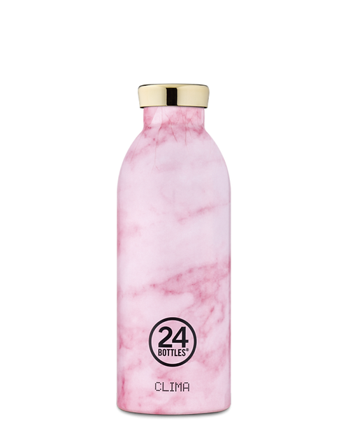 24 Bottles Clima - Pink Marble 500ml