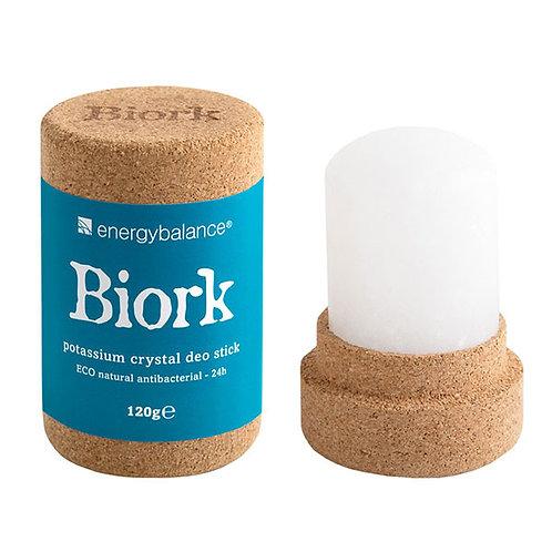 BIORK Crystal Deodorant Stick - Αποσμητικός Κρύσταλλος Χωρίς Πλαστικό