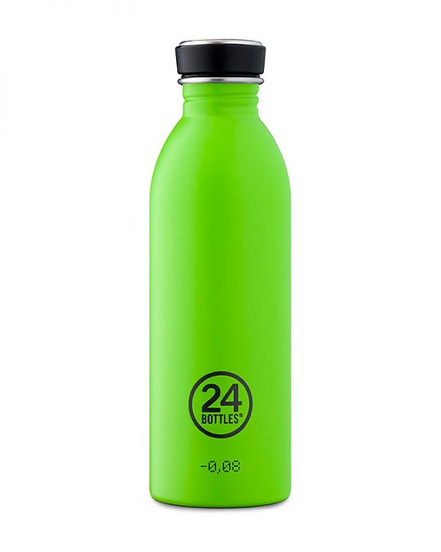 24 Bottles Urban - Lime Green 500ml
