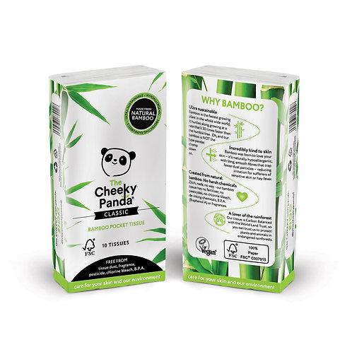 Pocket Tissues - Χαρτομάντιλα Τσέπης Από Μπαμπού