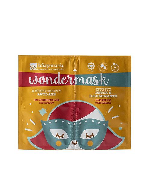 La Saponaria Wondermask 2 Steps Beauty - Μάσκα Καθαρισμού & Αντιγήρανσης