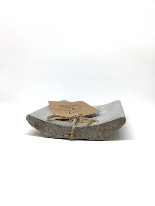 Sillage Cement Soap Holder - Χειροποίητη Βάση Σαπουνιού Από Τσιμέντο