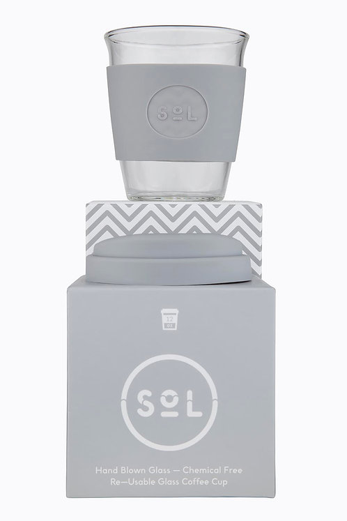 Sol Cup – Cool Grey 12oz