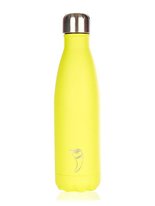 Μπουκάλι Θερμός Chilly's - Neon Yellow 500ml