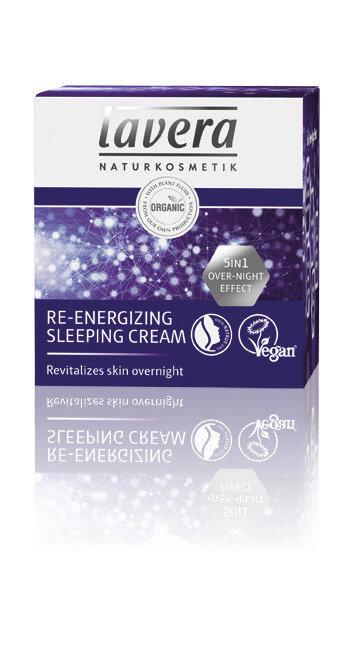 Lavera Re-Energizing Sleeping Cream - Ενέργεια & Τόνωση