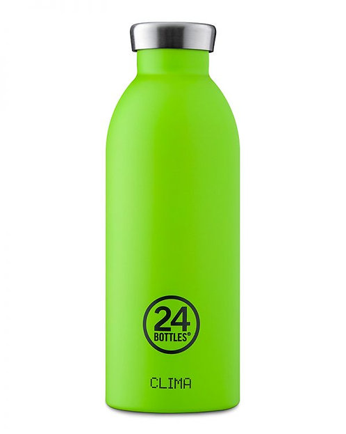 24 Bottles Clima - Lime Green 500ml