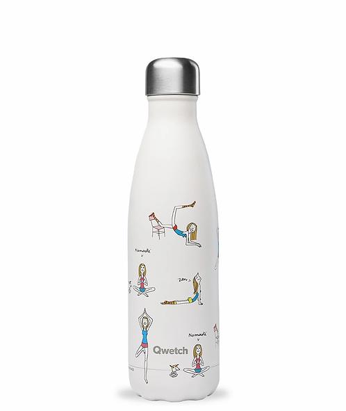 Μπουκάλι Θερμός Qwetch -Inspiration Yoga  500ml