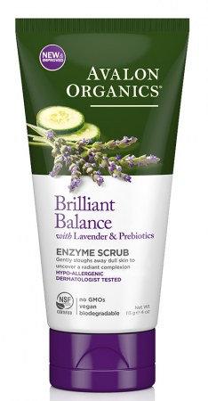 Avalon Organics Brilliant Balance Enzyme Scrub - Ενζυμικό Peeling Προσώπου