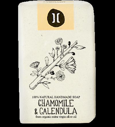 Helleo Chamomile & Calendula Soap - Σαπούνι Χαμομήλι & Καλέντουλα