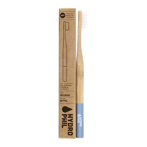 Hydrophil Toothbrush Bamboo Light Blue - Οδοντόβουρτσα Bamboo Medium / Soft