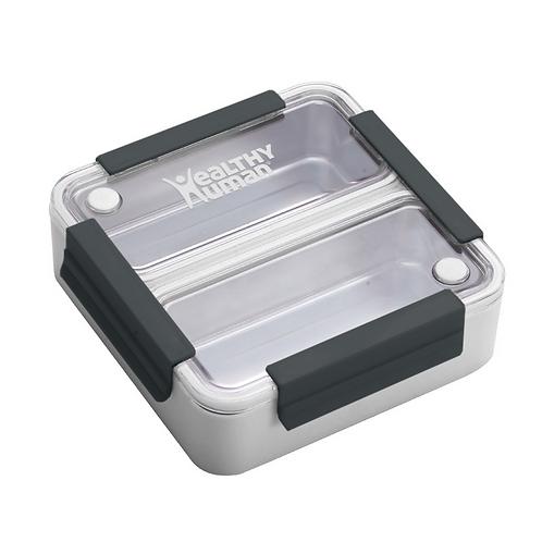 Healthy Human Bento Lunch Box - Φαγητοδοχείο Bento White