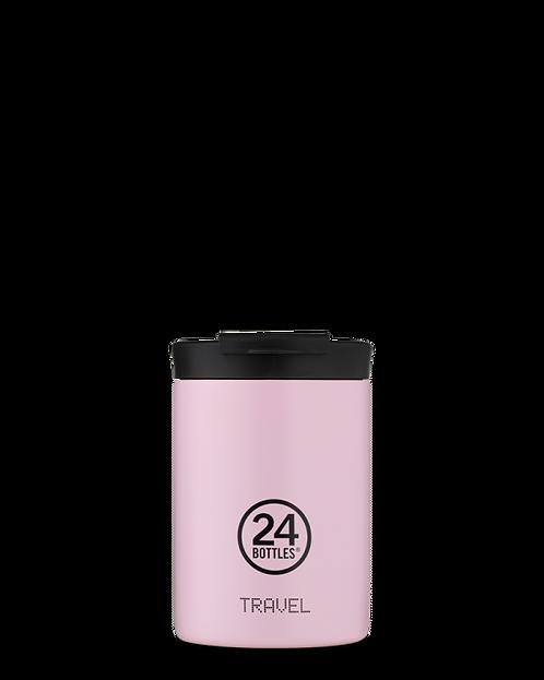 24 Bottles Travel Tumbler Candy Pink - Ποτήρι Θερμός 350ml