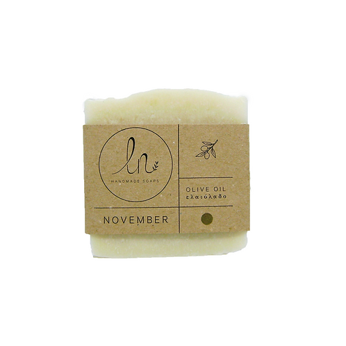 November - The Olive Oil Soap