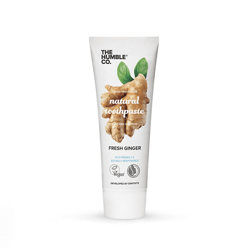 The Humble Co. Toothpaste Fresh Ginger - Οδοντόκρεμα Με Τζίντζερ