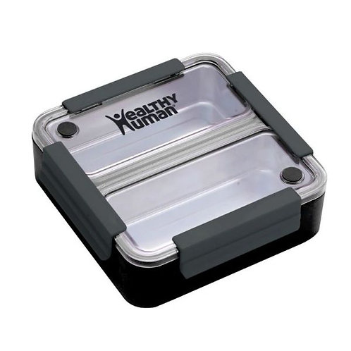 Healthy Human Bento Lunch Box - Φαγητοδοχείο Bento Black
