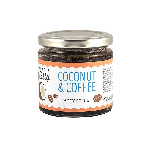 Zoya Goes Pretty Coconut & Coffee Body Scrub - Scrub Σώματος Καρύδα & Καφές
