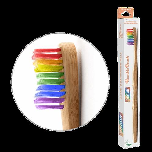 Humble Brush Adult - Proud Edition - Οδοντόβουρτσα Με Λαβή Μπαμπού Ενηλίκων Soft