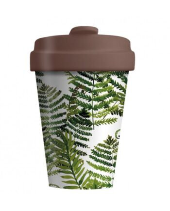 Eco BambooCup - Green Leaves