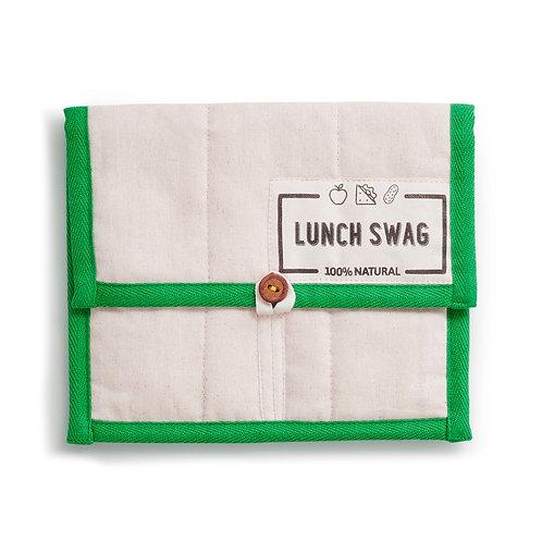Lunch Swag Green - Θήκη Μεταφοράς Φαγητού / Σνακ