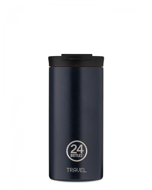 24 Bottles Travel Tumbler Deep Blue - Ποτήρι Θερμός 600ml