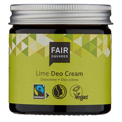 Fair Squared Deo Cream Fresh Lime Plastic Free - Αποσμητικό Λάιμ