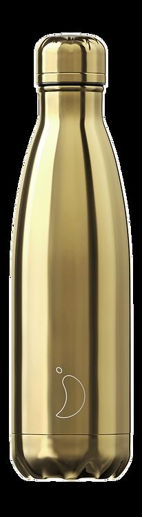 Μπουκάλι Θερμός Chilly's - Gold Chrome Edition 500ml