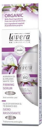 Lavera Firming Serum - Συσφικτικό Serum Με Έλαιο Karanja & Λευκό Τσάι