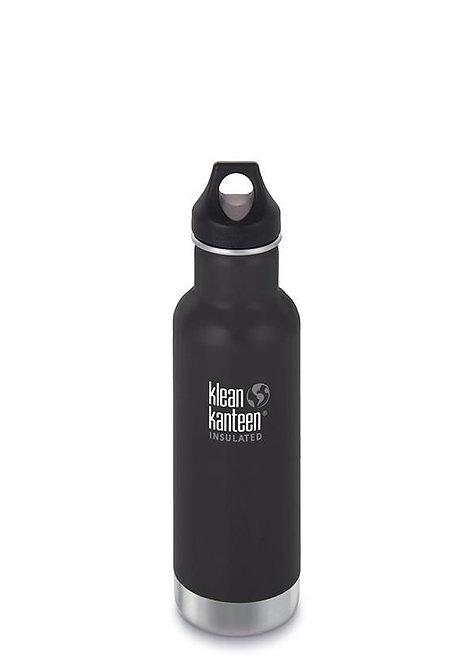 Klean Kanteen Insulated Classic - Μπουκάλι Θερμός Shale Black 592ml