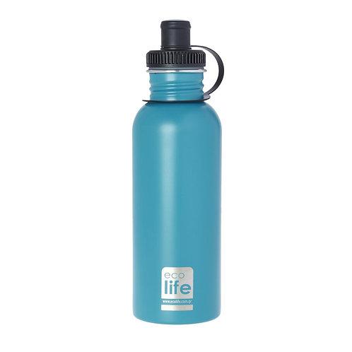 Ecolife Ανοξείδωτο Μπουκάλι 600ml - Aqua