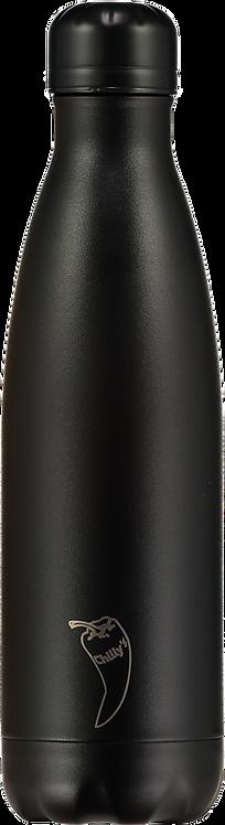 Μπουκάλι Θερμός Chilly's - All Black Edition 500ml